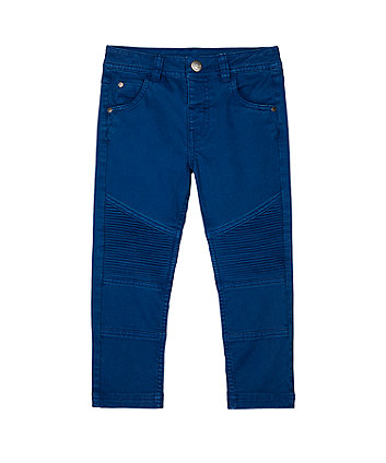Mothercare Blue Biker Trousers