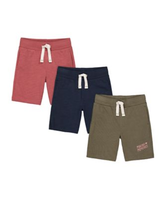 Mothercare Dusty Denim Short - 3 Pack