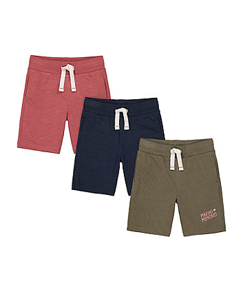 Mothercare Making Memories Shorts - 3 Pack