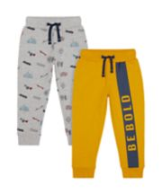 Mothercare Be Bold Joggers - 2 Pack