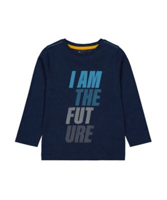 Mothercare Millenium Street Navy Future Nep Long Sleeve T-Shirt