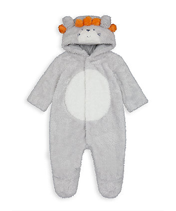 Mothercare Lion Fluffy All In One