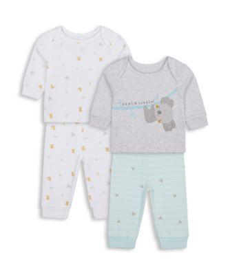 Mothercare Unisex Koala Pyjamas - 2 Pack