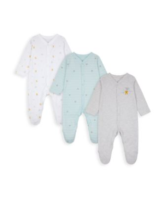 Mothercare Koala Cuddles Sleepsuits - 3 Pack