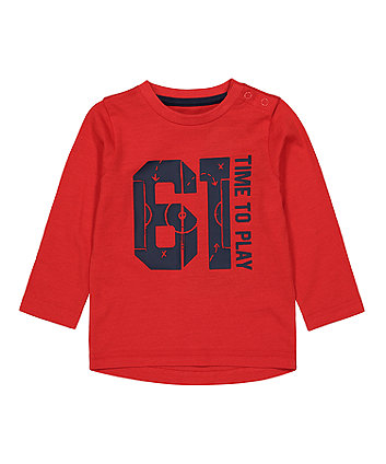 Mothercare Time To Play T-Shirt