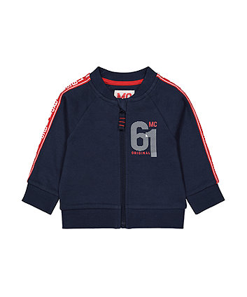 Mothercare Navy Tape Bomber Jacket