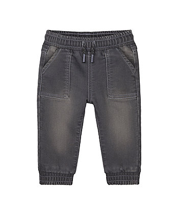 Mothercare Pvl Black Over The Bump Microfibre Trousers