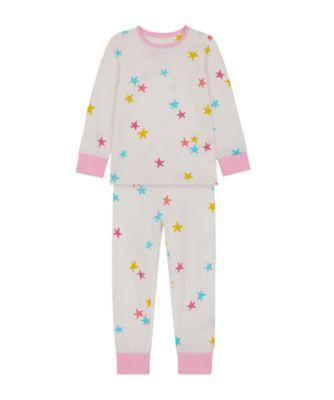 Mothercare Girls Star Multi EPP Pyjamas
