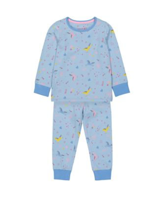 Mothercare Girls Party Horse Party House Allover Print EPP Pyjamas