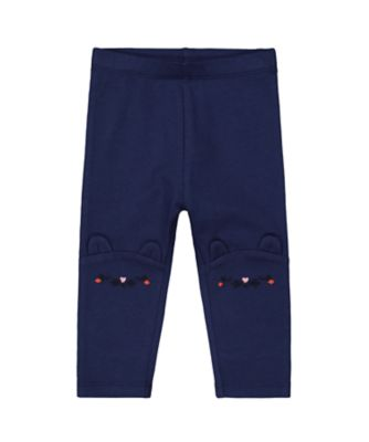 Mothercare Autumn Orchard Navy Novelty Knee Legging