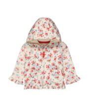 Mothercare Floral Frill Hoody