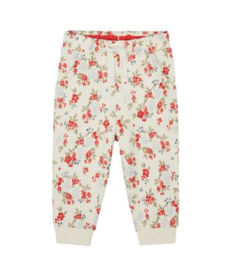 Mothercare Autumn Orchard Floral Loopback Jogger