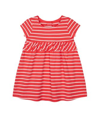 Mothercare Autumn Orchard Stripe Empire Dress