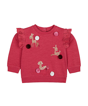 Mothercare Forest Friends Sweat Top