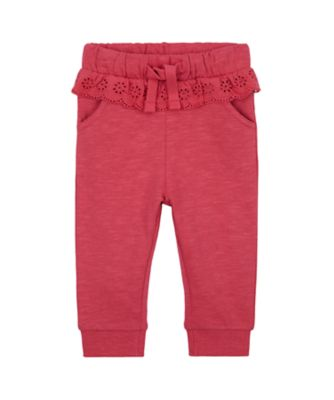 Mothercare Forest Pink Brushed Back Jogger