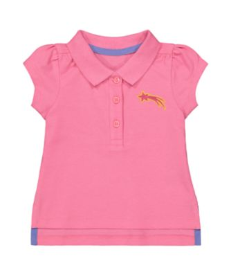 Mothercare MC61 Pink Polo Shirt