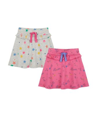 Mothercare MC61 Allover Print Skirt - 2 Pack