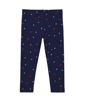 Mothercare Statement Navy Spot Legging