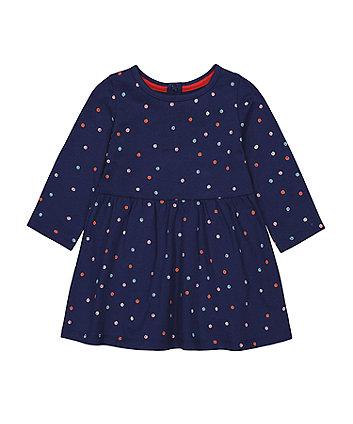 Mothercare Fashion Spotty Jersey Dress