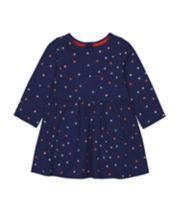 Mothercare Spotty Jersey Dress