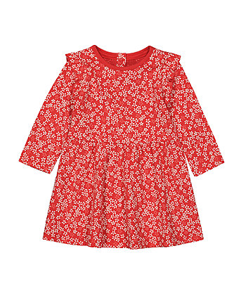 Mothercare Floral Jersey Dress