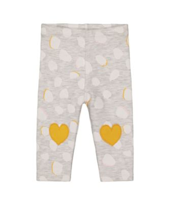 Mothercare Change Your Spots Gry Allover Print Patch Legging