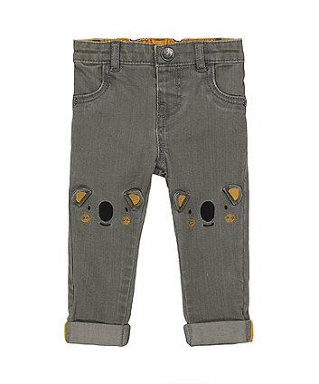 Mothercare Grey Koala Jeans