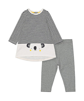 Mothercare Koala Dress And Leggings Set