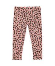 Mothercare Pink Leopard-Print Leggings