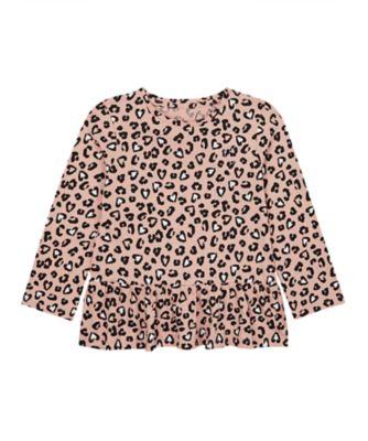 Mothercare Statement Flow Ts Leopard Long Sleeve T-Shirt