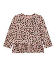 Mothercare Leopard Print Dropwaist T-Shirt