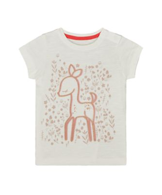 Mothercare Forest Deer Epp Short Sleeve T-Shirt