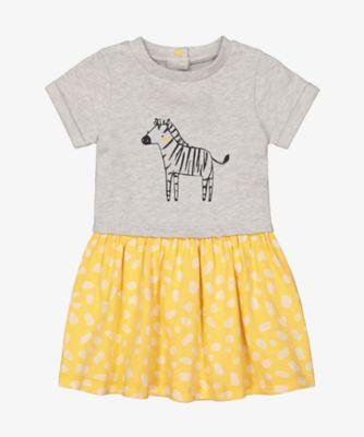 Mothercare Change Your Spots Zebra Twofer Short Sleeve Dress