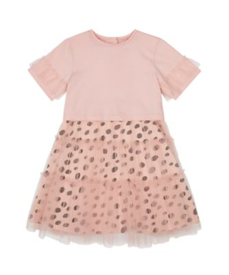 Mothercare Cool for Cats Pink Twofer With Mesh Tulle
