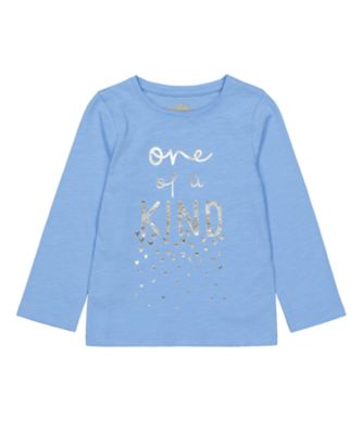 Mothercare Little Wanderer Blue Kind Foile EPP Long Sleeve T-Shirt