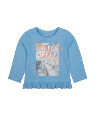 Mothercare Little Wanderer Wild One Photographic Long Sleeve T-Shirt