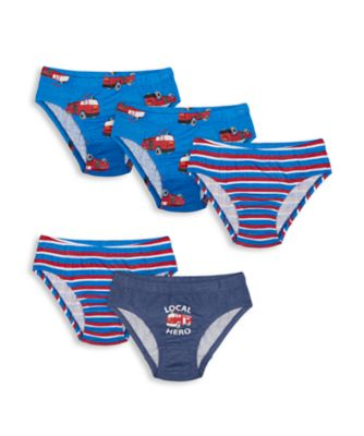 Mothercare Boys Local Hero Briefs - 5 Pack