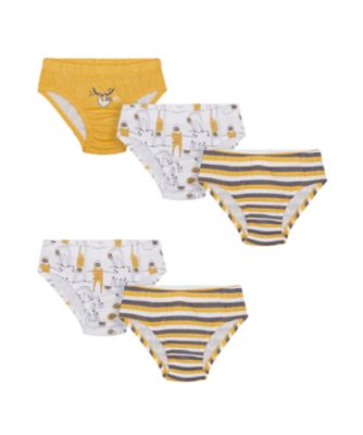 Mothercare Boys Slough Briefs - 5 Pack