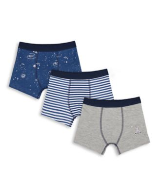 Mothercare Boys Out of this World Trunk - 3 Pack