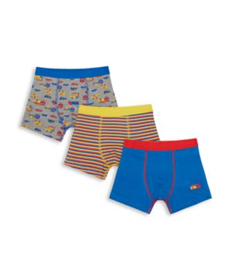 Mothercare Boys Transport Trunks - 3 Pack