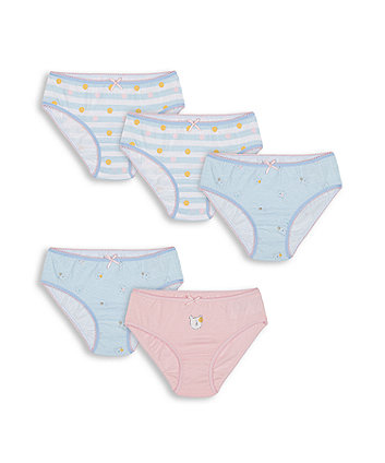 Mothercare Bear And Spot Briefs - 5 Pack