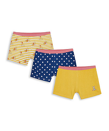Mothercare Bunny Hipster Briefs - 3 Pack