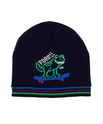 Mothecare Fashion Goal Knitted Magic Beanie Hat