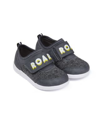 Mothercare Boys Grey Roar Sports Trainer Shoe