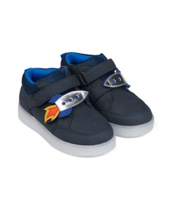 Mothercare Boys Rocket Light Up Trainer Shoe
