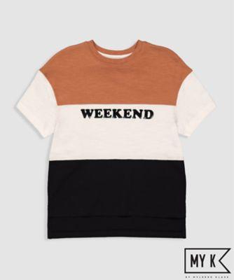 My K Weekend Colour Block T-Shirt