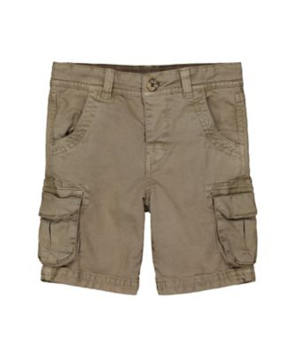 Mothercare Dusty Denim Khaki Cargo Short