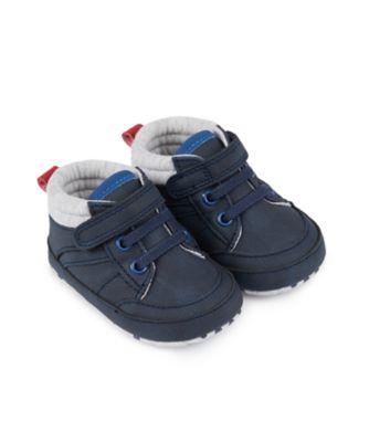 Mothercare Baby Boys High Top Pram Shoe