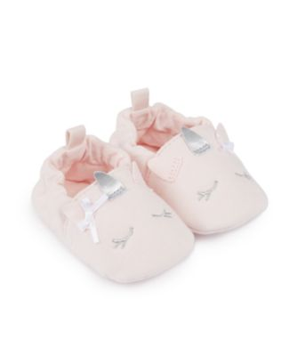 Mothercare Baby Girls Cotton Partyhouse Slipper Baggies