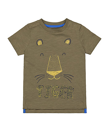 Mothercare Glow-In-The-Dark Tiger T-Shirt